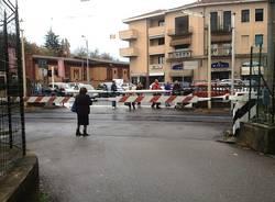 Ragazza investita sulla massicciata in via Bainsizza (inserita in galleria)