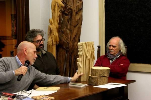 Festa degli alberi, l'incontro in galleria Ghiggini (inserita in galleria)