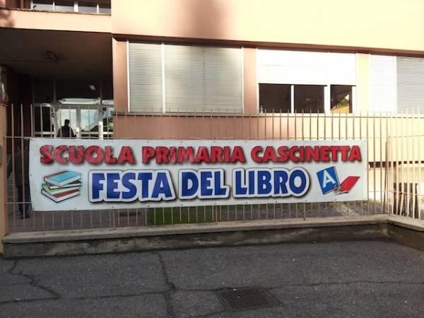 Festa del libro alla scuola Cascinetta (inserita in galleria)