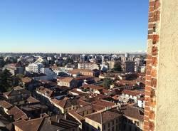 Gallarate vista dall'alto, dal campanile della Basilica (inserita in galleria)