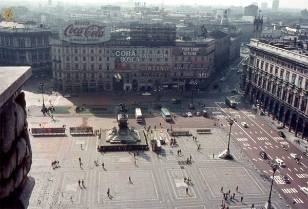 Il Duomo di Milano nel 1968 (inserita in galleria)