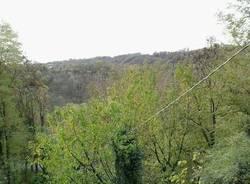Il parco della Bevera dal balcone di Velmaio e Dovese (inserita in galleria)