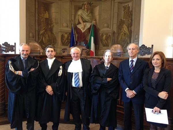 Insediamento presidente tribunale Varese (inserita in galleria)