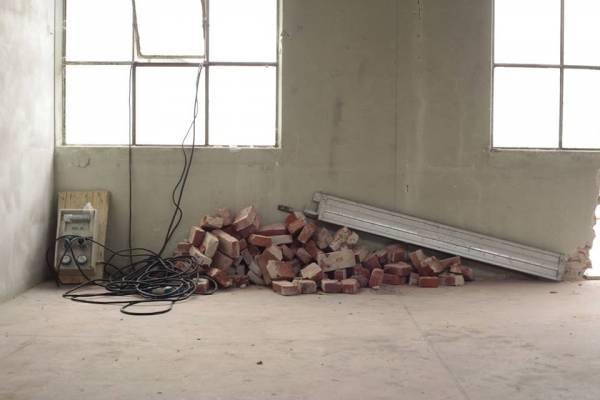 """La casa di 26per1 201Cin costruzione"""" (inserita in galleria)"""