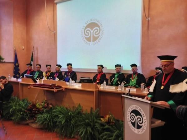 La cerimonia di Inaugurazione dell'anno accademico (inserita in galleria)