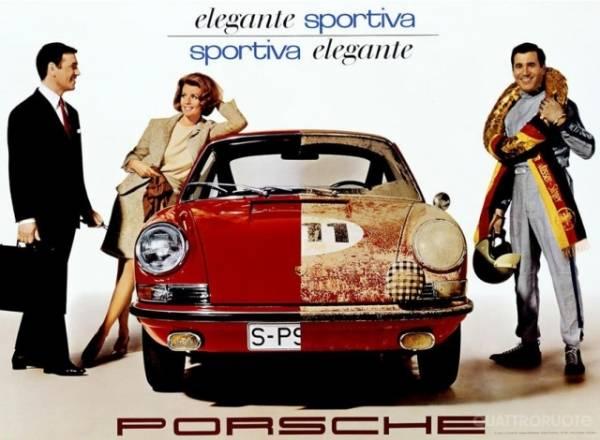 La mitica Porsche 911 (inserita in galleria)
