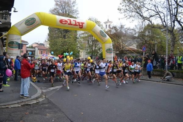 La partenza della maratonina (inserita in galleria)