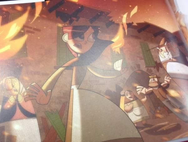 La storia di Saronno in cartone animati (inserita in galleria)