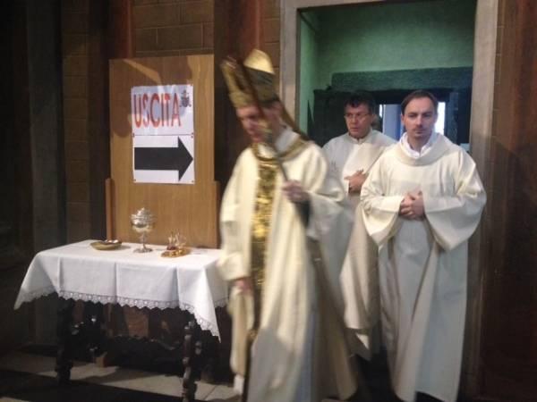 Messa solenne a san Vittore per le reliquie di Giovanni Paolo II (inserita in galleria)