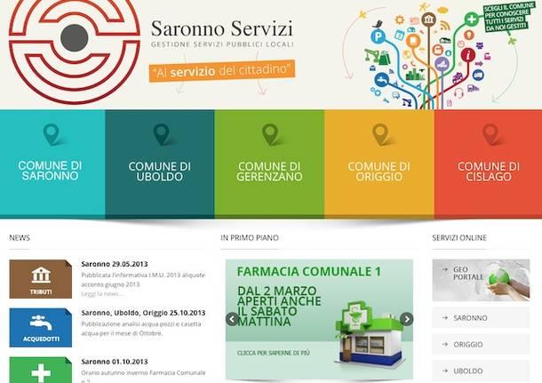 nuovo sito saronno servizi