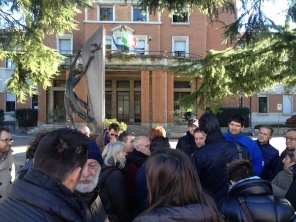 Protesta contro la Tares a Samarate (inserita in galleria)