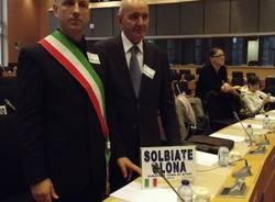 Solbiate Olona riceve la bandiera di Città dello Sport (inserita in galleria)