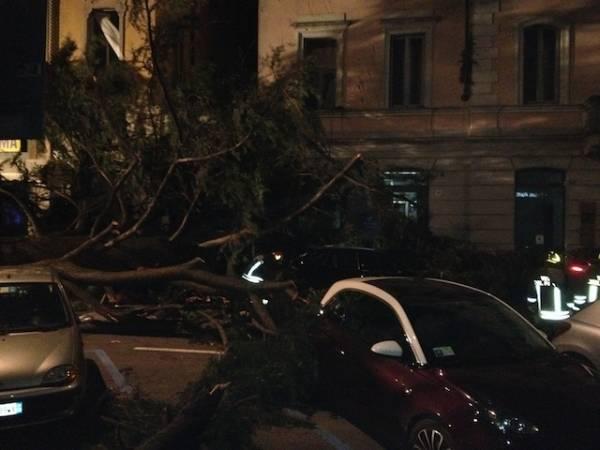 Vento: i disastri a Luino (inserita in galleria)