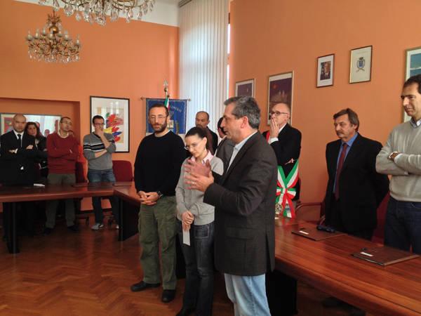 Vittorio Cosma riceve la cittadinanza onoraria di Comerio (inserita in galleria)
