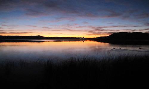 Alba Lago di Monate