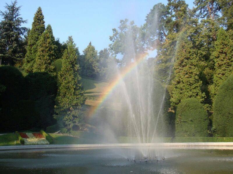 Arcobaleno ai Giardini Estensi