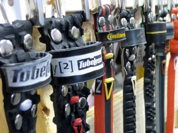 Dai copertoni usati nascono cinture e bracciali (inserita in galleria)