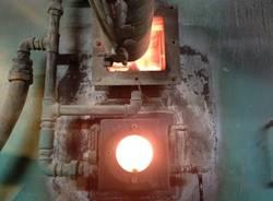 Dentro l'inceneritore di Borsano (inserita in galleria)