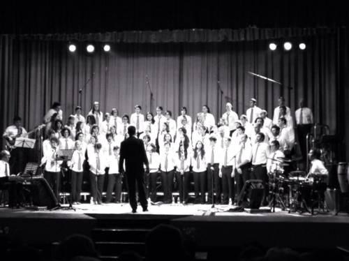 Gallarate sabato 14 dicembre 2013 Teatro Gassman Coro Divertimento Vocale. (inviata tramite iPhone app)