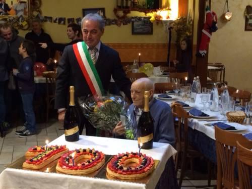 I 100 anni di nonno Rocco