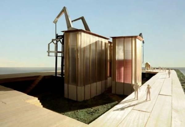 Il padiglione svizzero a Expo (inserita in galleria)