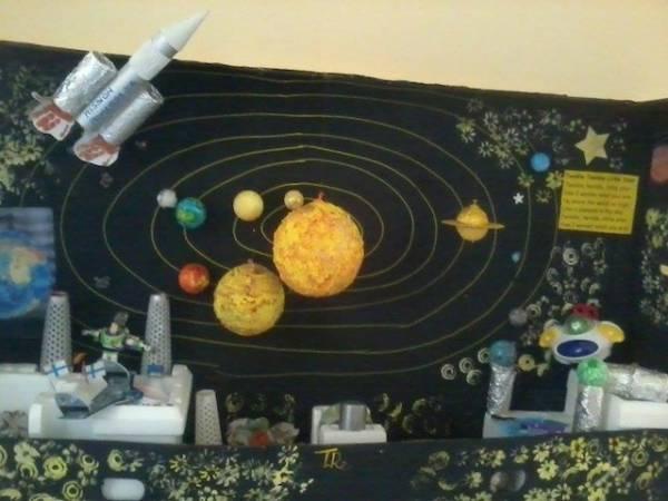 Il presepe spaziale dell'Osservatorio a Tradate (inserita in galleria)