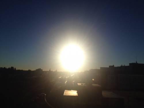 Il ritorno del sole (inviata tramite iPhone app)