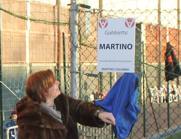 """Il Varese inaugura la """"Gabbietta Martino"""" (inserita in galleria)"""