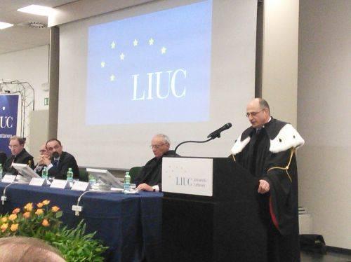 Inaugurazione Anno Accademico in LIUC  (inviato da Android app)