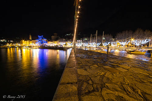 Laveno by night