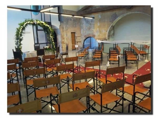 Matrimonio nell'ex chiesa di San Giulio (inserita in galleria)