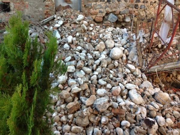 Nuovo crollo al Castello di Belforte (inserita in galleria)