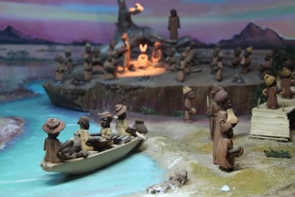 Presepio e diorami in mostra al Padre Monti (inserita in galleria)