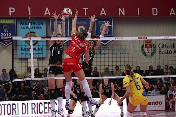 Unendeo Yamamay - Liu Jo Modena 3-0 (inserita in galleria)