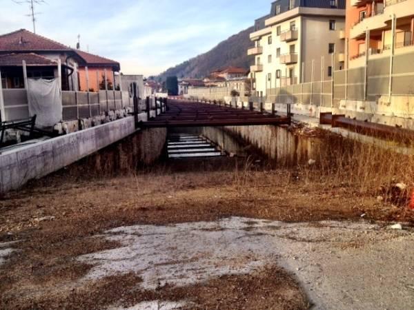 Arcisate-Stabio, un cantiere ancora deserto (inserita in galleria)
