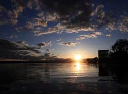 Il lago di Varese visto da Francesco Murano (inserita in galleria)