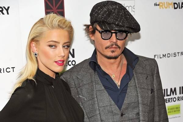 Johnny Depp e Amber Heard fidanzati (inserita in galleria)
