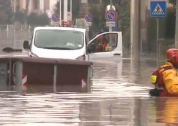 Maltempo, alluvioni e dispersi