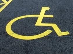 parcheggio disabili  apertura