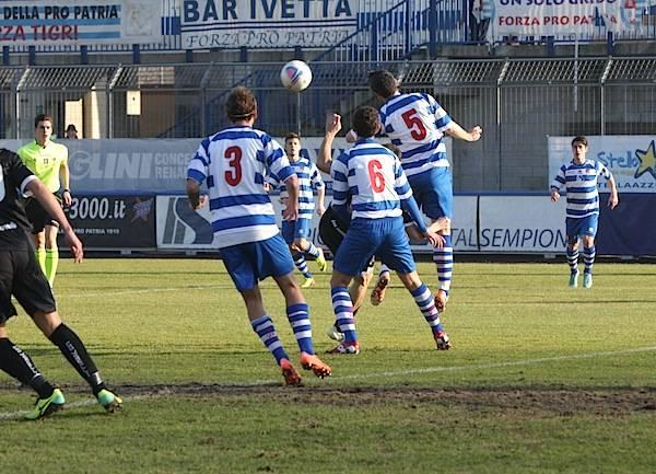 Pro Patria - Pro Vercelli finisce 0-0 (inserita in galleria)