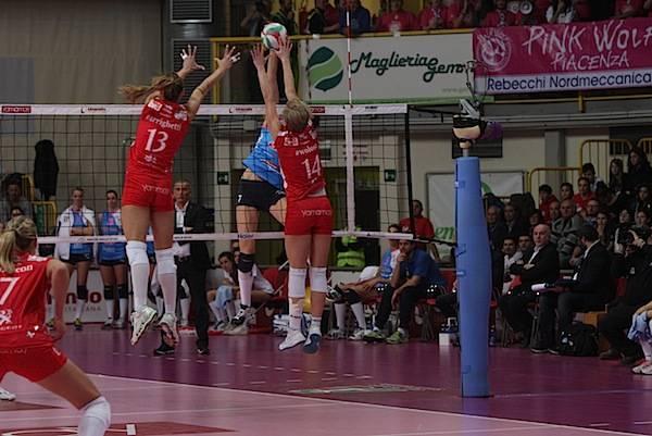 Unendo Yamamay torna alla vittoria contro Piacenza (inserita in galleria)