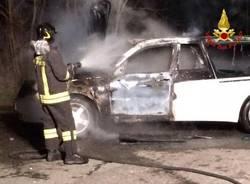 A fuoco carro funebre (inserita in galleria)