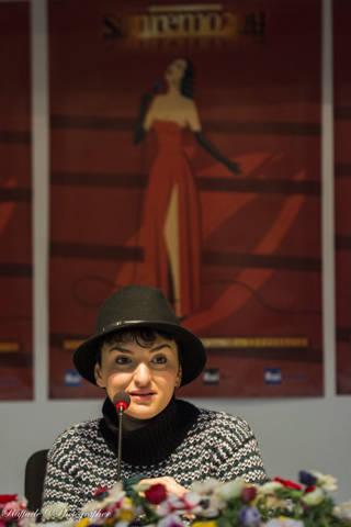 Arisa, il festival di Sanremo 2014 raccontato in foto  (inserita in galleria)