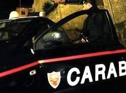 carabinieri sera notte apertura