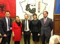 Festa indipendenza Kossovo con Lara Comi (inserita in galleria)