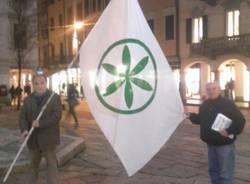 Fiaccolata della Lega a Varese  (inserita in galleria)
