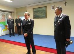 Il generale Gallitelli in visita ai carabinieri di Varese (inserita in galleria)