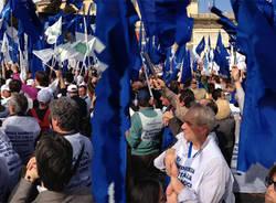 imprese in piazza roma manifestazione
