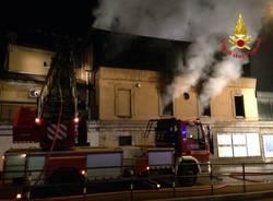 Incendio all'ippodromo/2 (inserita in galleria)