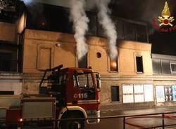 Incendio all'ippodromo/2 (inserita in galleria)